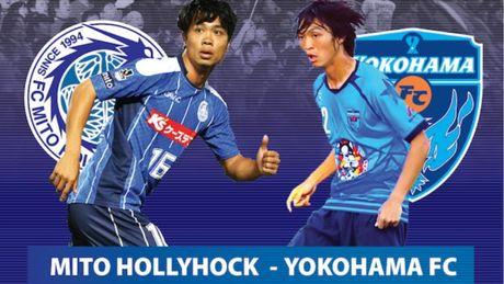 Ket qua bong da tran Mito Hollyhock - Yokohama - Anh 1