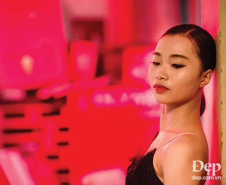 Kien tuong dancesport Nha Khanh: 'Chi Anh tung tim ban nhay moi cho em' - Anh 1