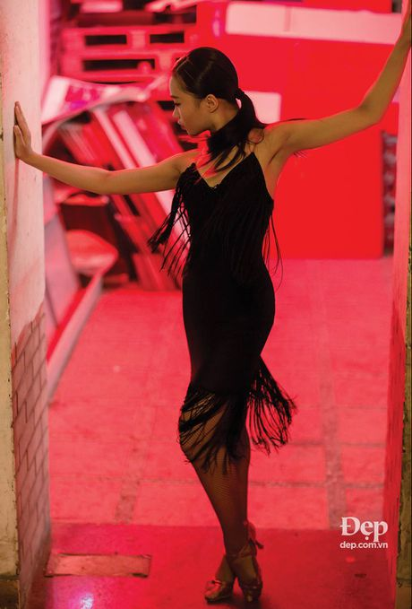 Kien tuong dancesport Nha Khanh: 'Chi Anh tung tim ban nhay moi cho em' - Anh 3