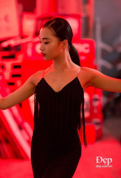 Kien tuong dancesport Nha Khanh: 'Chi Anh tung tim ban nhay moi cho em' - Anh 8