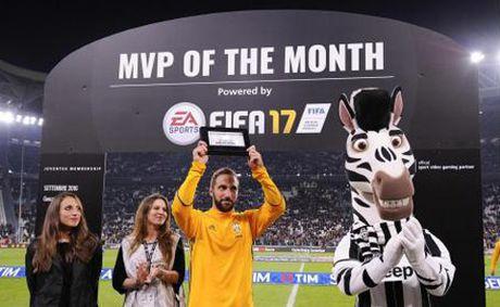 Juventus 2–1 Udinese: Dybala ruc sang trong ngay Higuain duoc vinh danh - Anh 1
