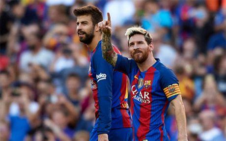 Clip Barca 4-0 Deportivo: 'Kep phu' Messi - Anh 1