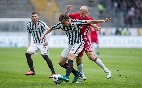 Hoa Frankfurt, Bayern mat diem tran thu hai lien tiep - Anh 1