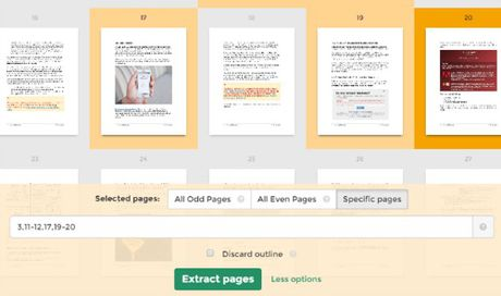 Cach sap xep va giai nen nhanh trang PDF - Anh 5