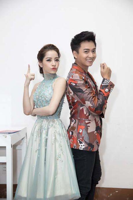 Chi Pu – Ngo Kien Huy dua gion trong hau truong The Voice Kids 2016 - Anh 4