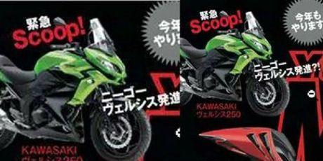 Kawasaki Versys 250 ro ri tai thi truong Dong Nam A - Anh 2