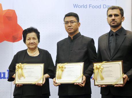 FAO lan dau tien vinh danh mot nu nong dan Viet Nam - Anh 1