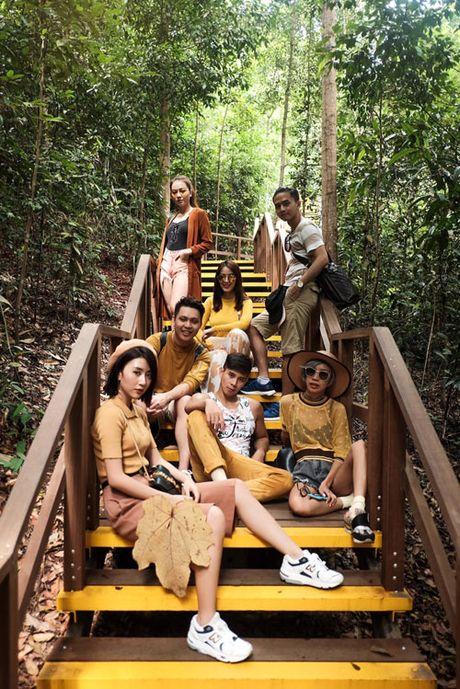 Van Anh, Tu Vi choi troi dua ca doan phim du lich Singapore - Anh 5