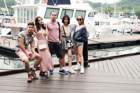 Van Anh, Tu Vi choi troi dua ca doan phim du lich Singapore - Anh 7