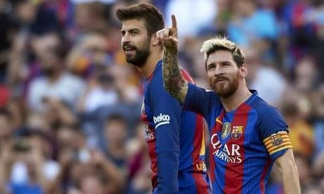 Vong 8 La Liga: Messi lap ky luc; Kep phu len tieng - Anh 2