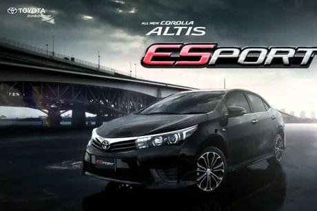 Toyota ra mat Corolla ESport gia 600 trieu dong - Anh 1