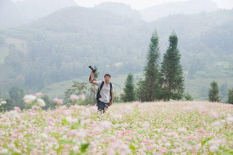 Ngam hoa tam giac mach no som o Bac Ha, Lao Cai - Anh 6