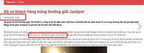 Su that ve thong tin khach hang trung 92 ty xo so Vietlott - Anh 1