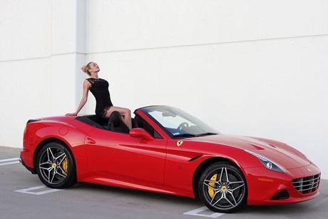 'Bong hong Tay' sexy ben Ferrari California T tien ty - Anh 8