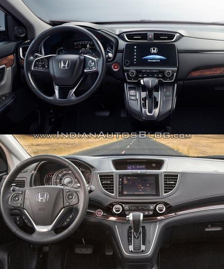 Honda CR-V 2017 co gi noi bat so voi the he cu? - Anh 3