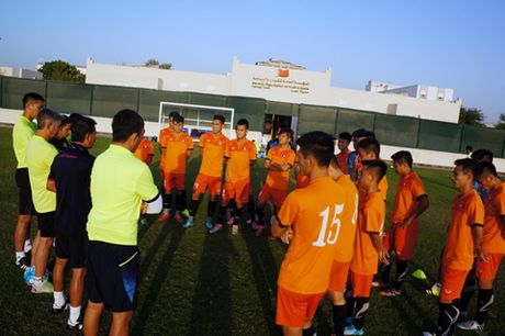 U19 Viet Nam tu tin truoc luot tran thu hai - Anh 1
