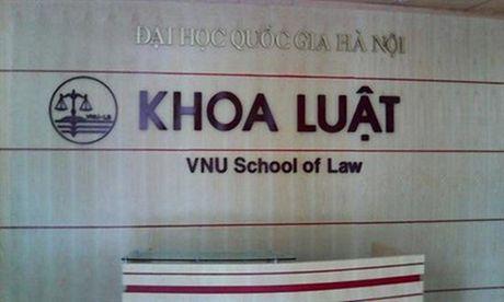Nang cap Khoa Luat thanh truong Dai hoc thuoc DH Quoc gia Ha Noi - Anh 1