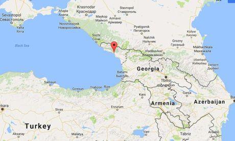 Danh bom lieu chet trung tam truyen hinh Abkhazia - Anh 1