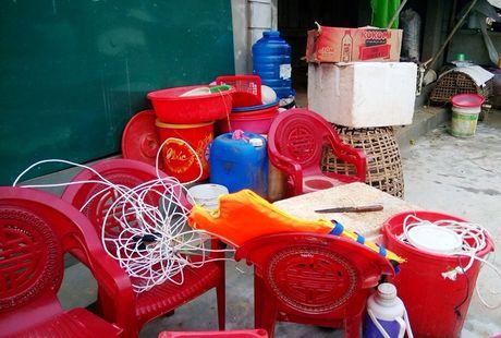 Mua lu tai Quang Binh: Nuoc rut den dau tan hoang den do - Anh 8