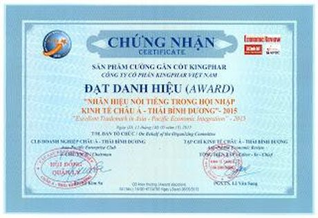 Kingphar Viet Nam: Thuong hieu uy tin, noi tieng Chau A - Thai Binh Duong trong hoi nhap - Anh 4