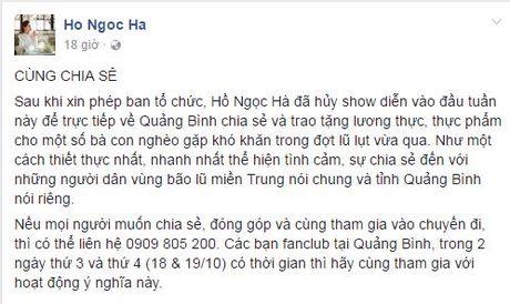 Sao Viet va nhung tam long 'thuong ve mien Trung' - Anh 2