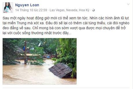 Sao Viet va nhung tam long 'thuong ve mien Trung' - Anh 5