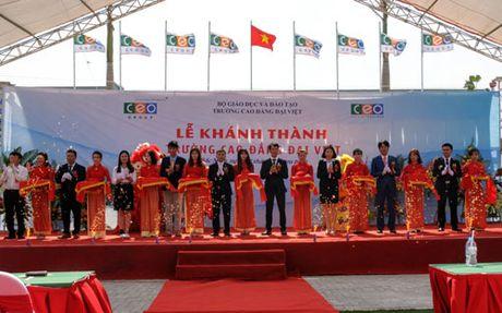 CEO Group khanh thanh truong Cao dang Dai Viet tai Bac Ninh - Anh 1