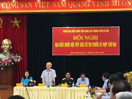 Tong Bi thu: 'Nhot quyen luc vao trong long quy che' - Anh 1