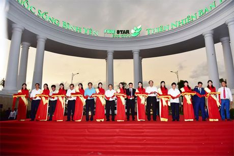 Thu tuong tham du an Thanh pho sinh thai Nam Sao - Anh 1