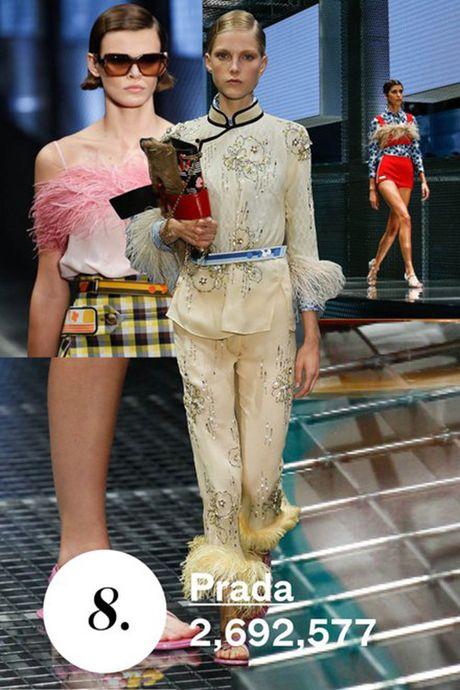 Chanel de Gucci vuot mat tren xep hang cua tap chi Vogue - Anh 8