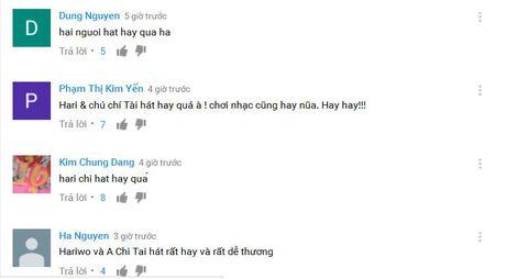 Chi Tai song ca hit 'Anh cu di di' voi Hari Won 'gay bao' - Anh 3