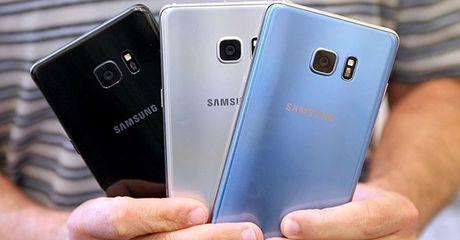 Con gan 5.000 dien thoai Samsung Galaxy Note 7 chua duoc thu hoi tai Viet Nam - Anh 1