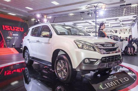 Isuzu Viet Nam: xe SUV cung mang gen noi troi cua xe tai - Anh 4