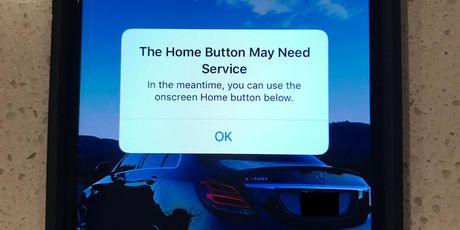 iPhone 7 gap loi bi liet phim Home - Anh 1