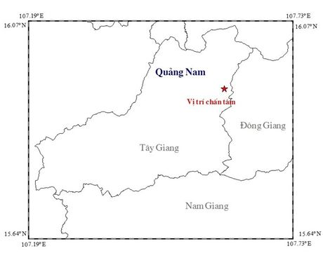 Lien tiep xay ra dong dat manh hon 3 do Richter o Quang Nam - Anh 1