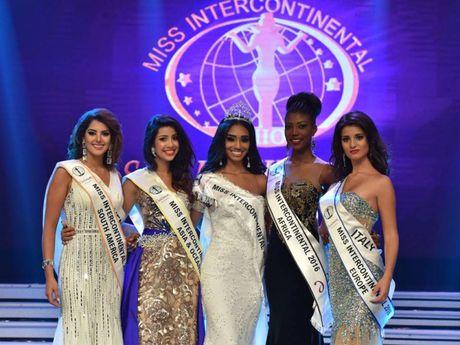 Puerto Rico dang quang, Viet Nam truot top tai 'Hoa hau Lien luc dia 2016' - Anh 3
