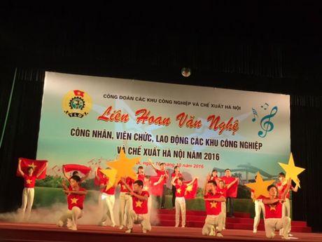 Soi noi Lien hoan van nghe trong CNVCLD Khu CN-CX Ha Noi nam 2016 - Anh 2