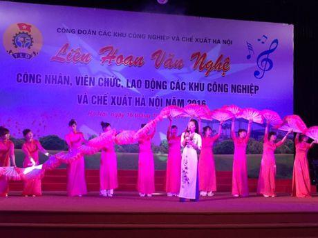Soi noi Lien hoan van nghe trong CNVCLD Khu CN-CX Ha Noi nam 2016 - Anh 4