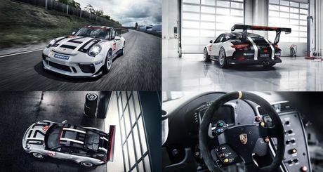 Panamera 4 E-Hybrid va sieu xe dua 911 GT3 Cup ra mat tai Phap - Anh 2