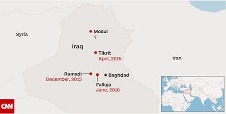 Iraq bat dau chien dich danh duoi IS khoi Mosul - Anh 2