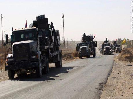 Iraq bat dau do quan vao Mosul tieu diet IS - Anh 1