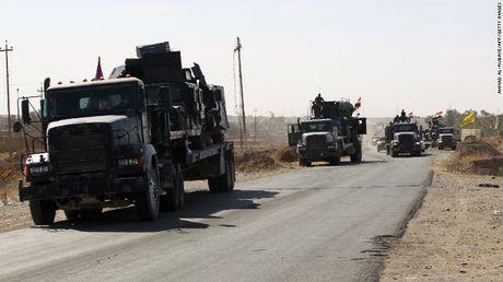 Iraq bat dau do quan vao Mosul tieu diet IS - Anh 2