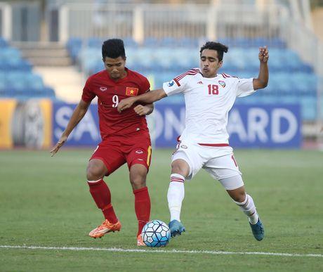 U19 Viet Nam tam dan dau bang sau tran hoa UAE - Anh 2