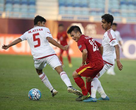 U19 Viet Nam tam dan dau bang sau tran hoa UAE - Anh 4
