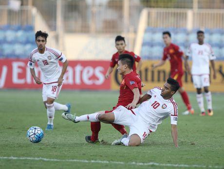 U19 Viet Nam tam dan dau bang sau tran hoa UAE - Anh 5