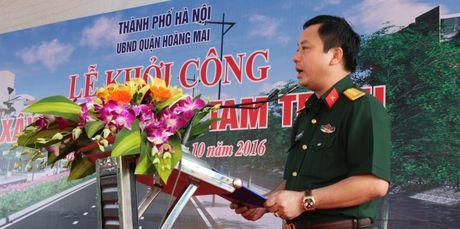 Ha Noi: Chinh thuc khoi cong xay dung duong Tam Trinh - Anh 2
