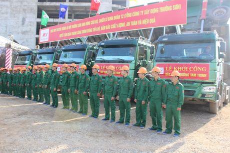 Ha Noi: Chinh thuc khoi cong xay dung duong Tam Trinh - Anh 3
