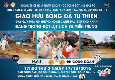 Sao Viet keu goi moi nguoi chung tay giup do mien Trung - Anh 3