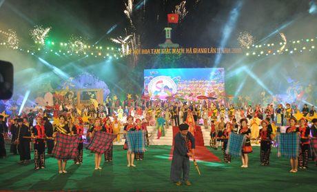 Ha Giang: Khai mac Le hoi hoa Tam giac mach lan thu 2 nam 2016 - Anh 1