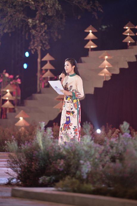 Hinh anh: Hoang Thanh lung linh trong dem be mac Festival Ao dai - Anh 8